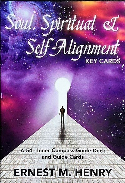 54 Inner Compass Key Guide Deck - For Soul, Self, Spiritual & Business Alignment, add $36.00 for 20 minute skype or phone reading.