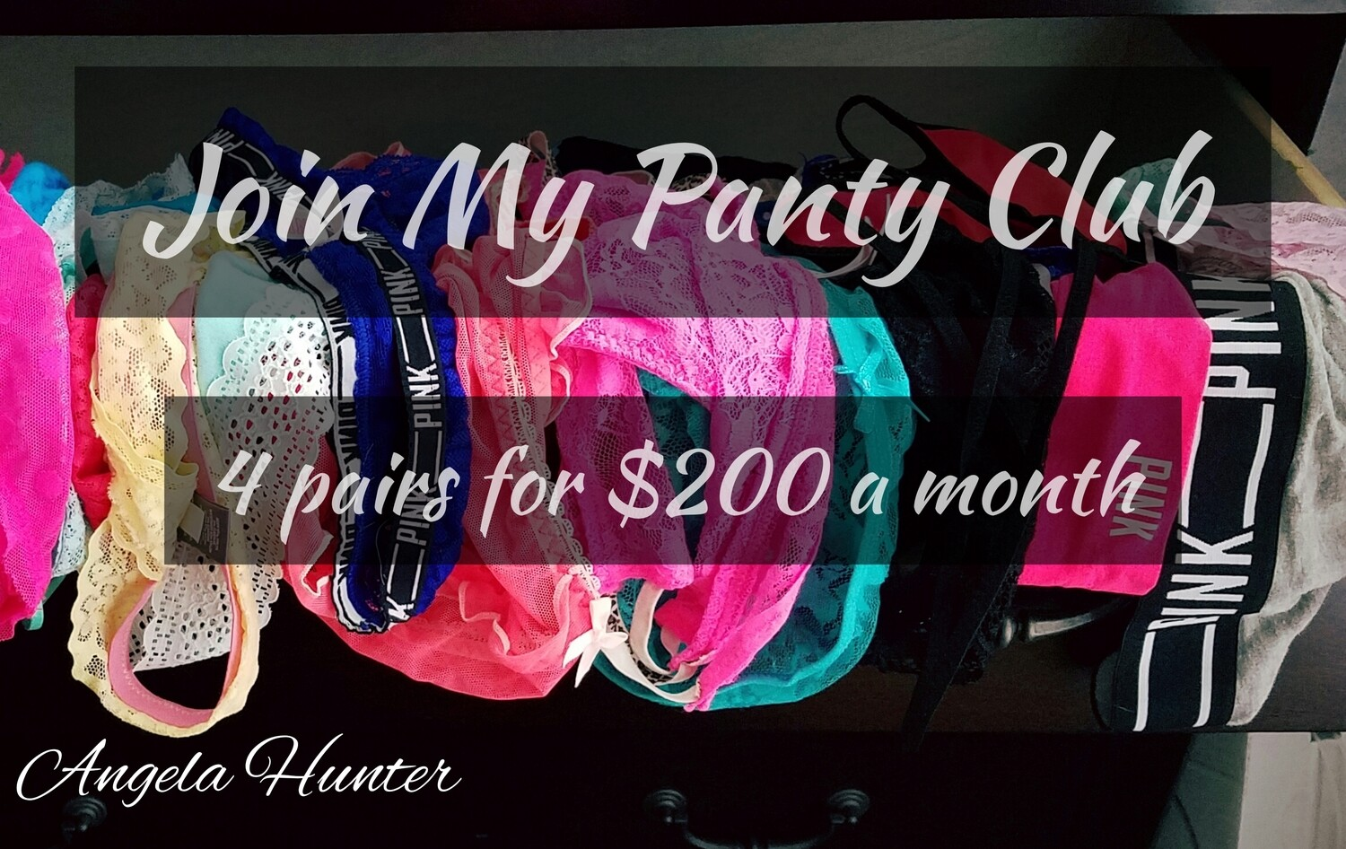 The Monthly Panty Club U.S. ONLY