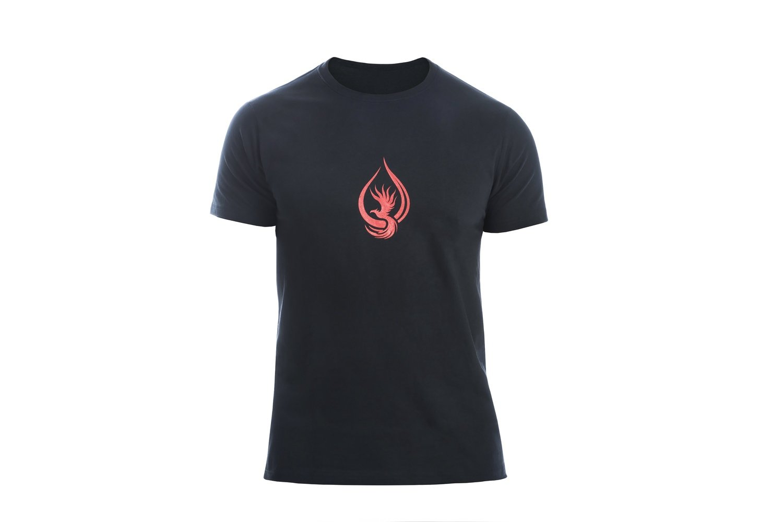 T-shirt MAN Black/Red