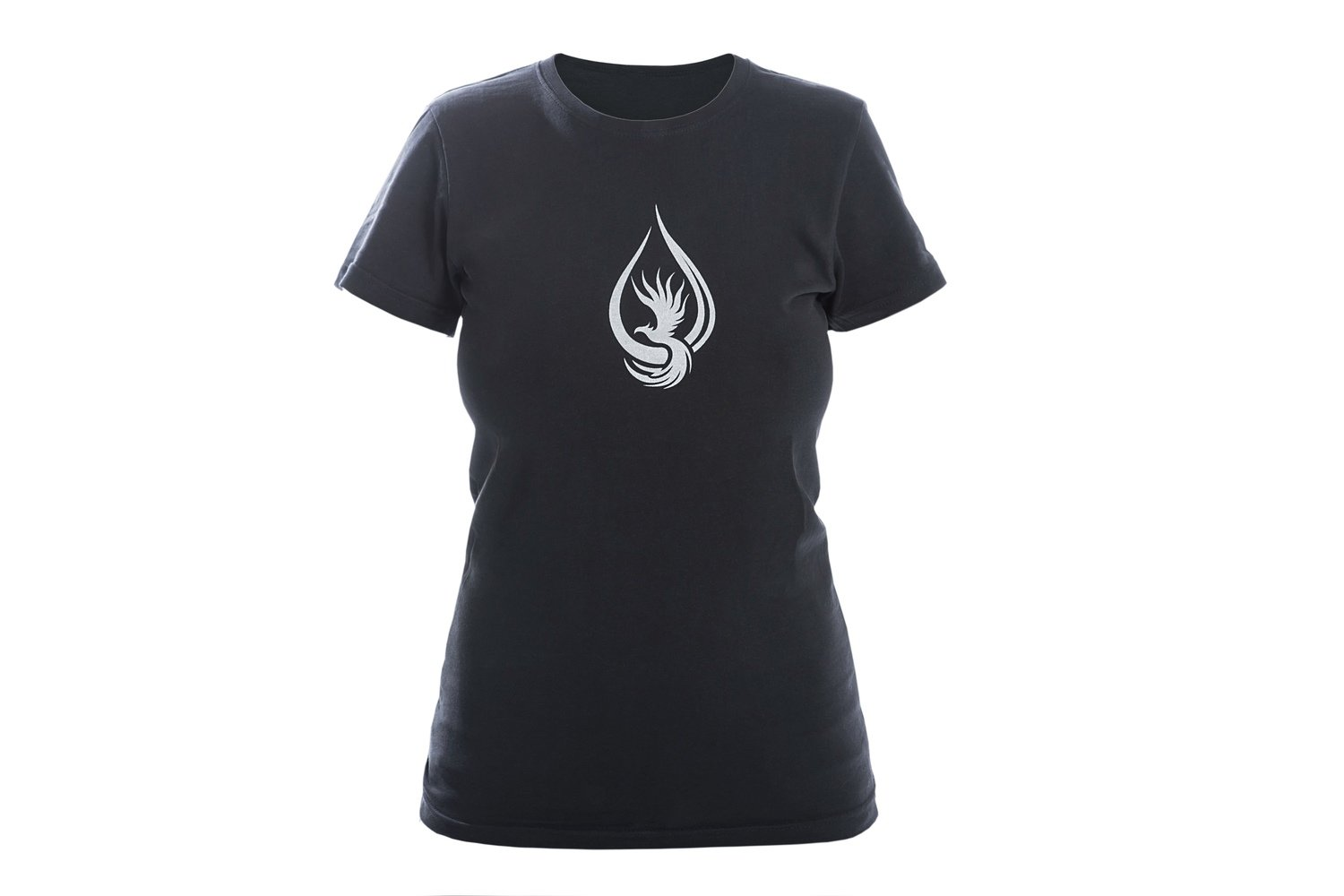 T-shirt WOMAN Black/Silver