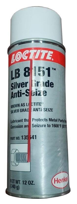 LOCTITE LB 8151 SILVER GRADE ANTISEIZE