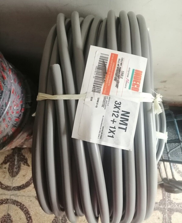 CABLE VULCANIZADO 4X12 AWG INDECO