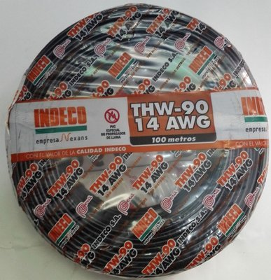 Cable THW90 14AWG