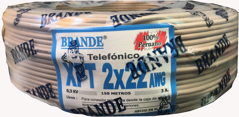 Cable Telefónico 2x22AWG
