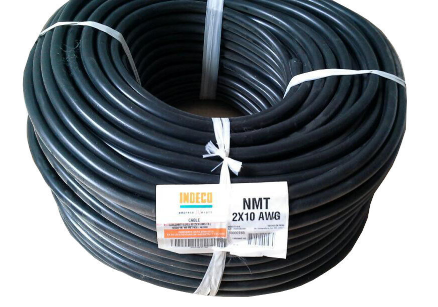 Cable Vulcanizado 2x10 AWG Indeco