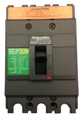 Interruptor Trifasico Fijo 60A EZC Easypact
