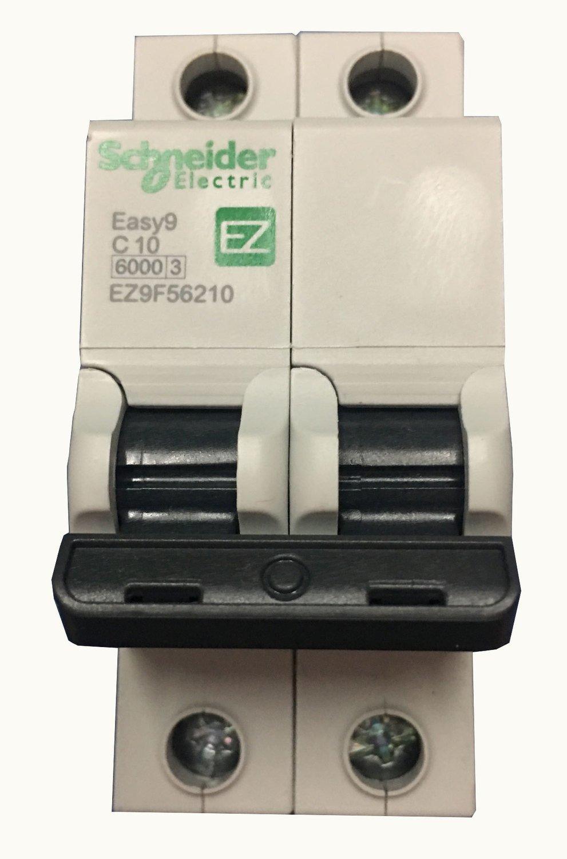 Schneider Interruptor Termomagnetico 2x10A Easy9