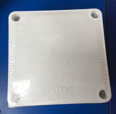 CAJA DE PASE PVC 100X100X70