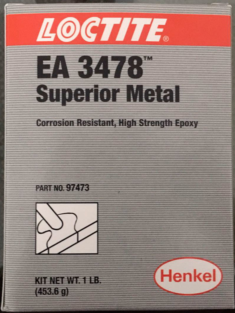 LOCTITE SUPERIOR METAL EA3478