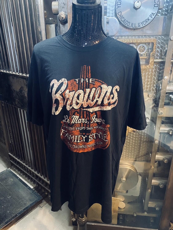 Browns Vintage Violin T-shirt