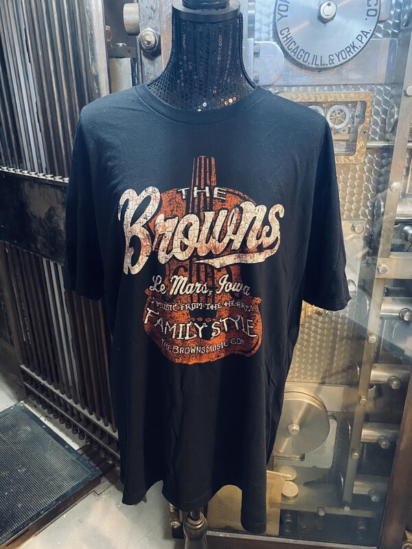 Browns Vintage Violin T-shirt