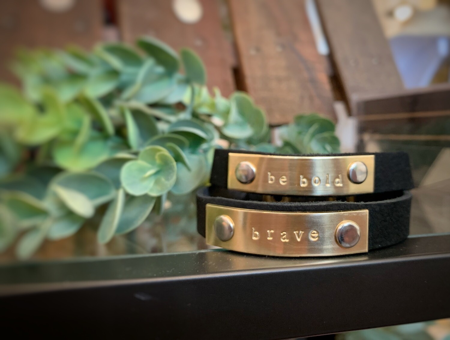 Leather Bracelets - Handmade in Iowa!