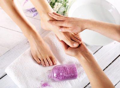 Organic Pedicure and Manicure