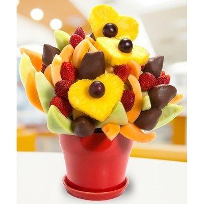 Pineapple Chocolate Berry Blossom
