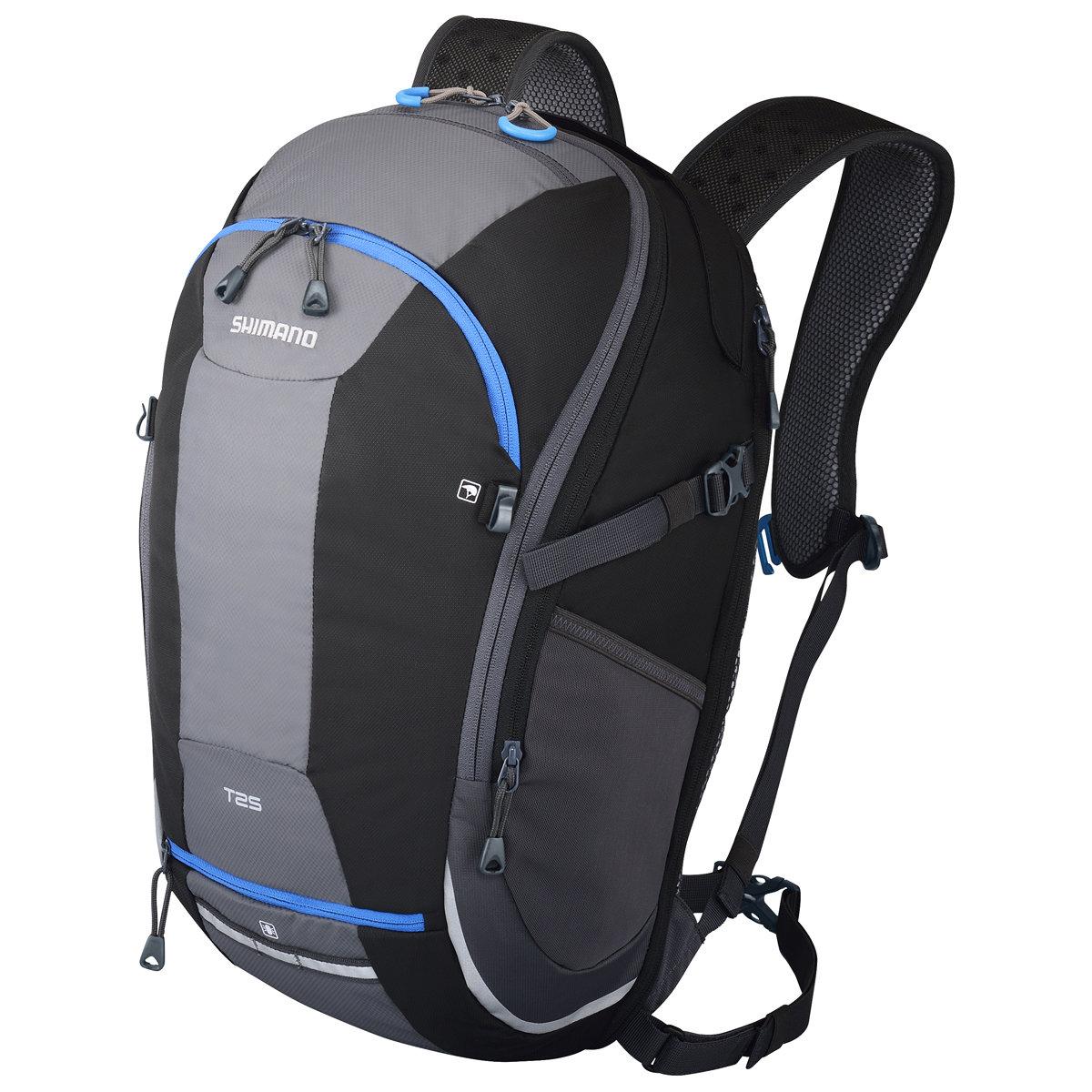 Shimano Taske Tsukinist 25+5 Sort/Blå Commuter Daypack