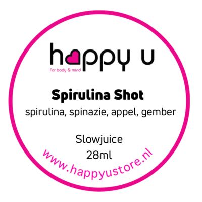 Spirulina Shot NIEUW
