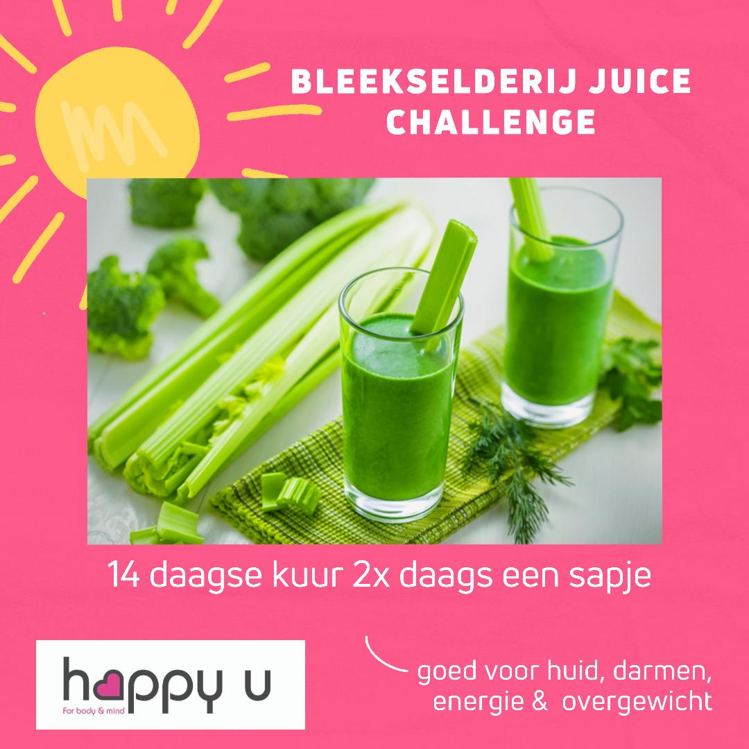 Celery Cleanse Challenge NIEUW