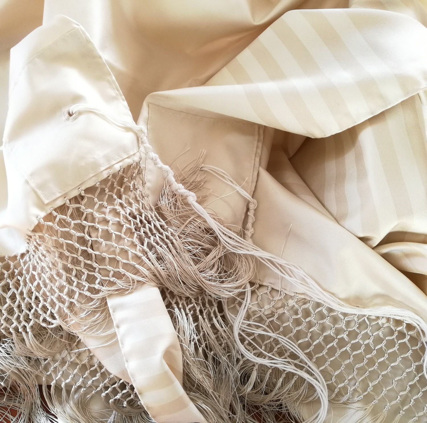 Beige Wedding Tallit Limited Edition | Talled da Matrimonio