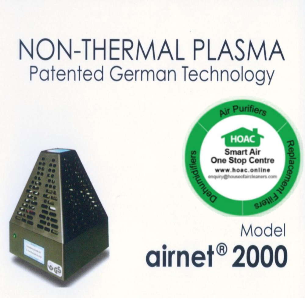 Non-Thermal Plasma Model Airnet@2000