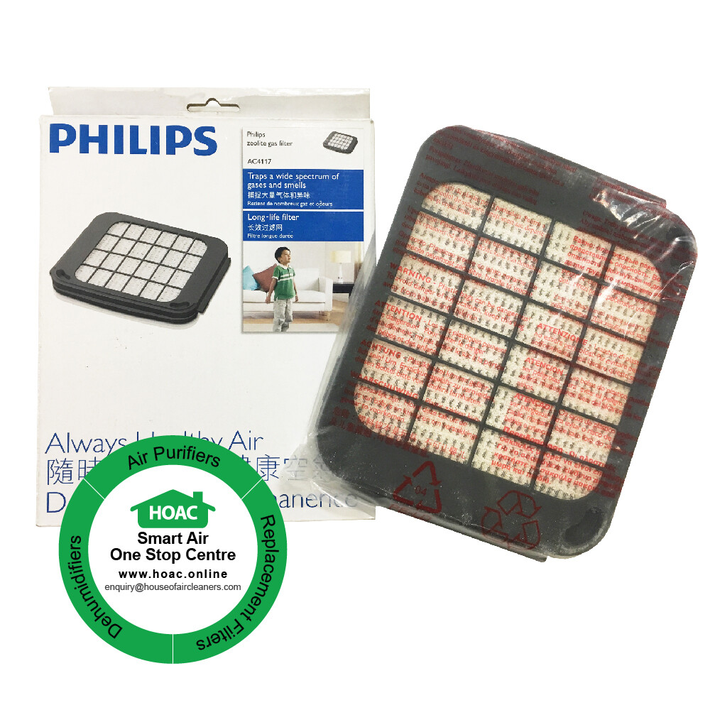 Philips Zeolite Gas Filter AC4117 for Model AC 4054 / AC 40