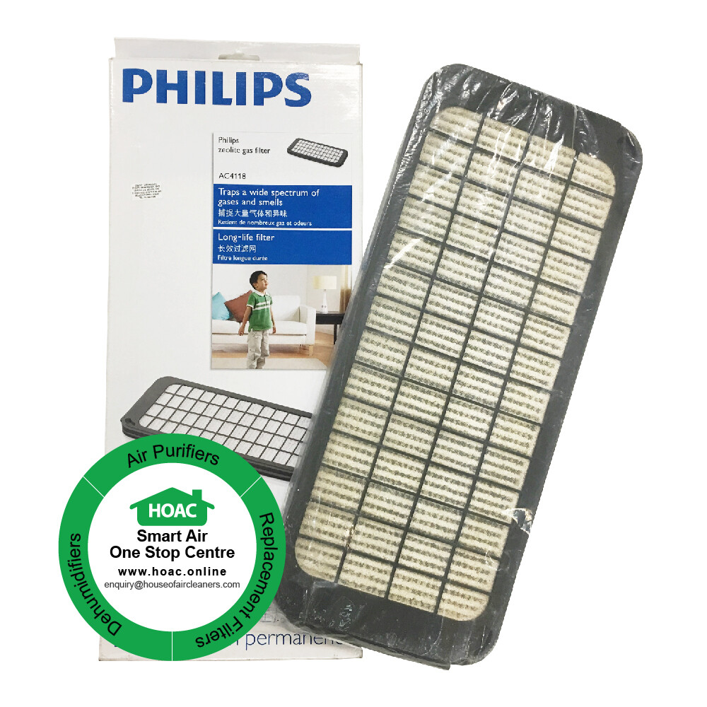 Philips Zeolite Gas Filter AC4118 for Model AC 4064/ AC4065