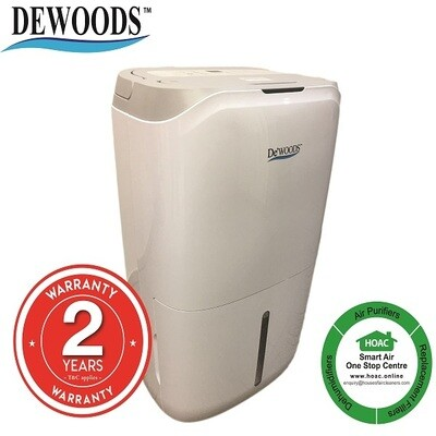 DEWOODS Dehumidifier MDH-20A (20 Litres) With 2 YEARS WARRANTY