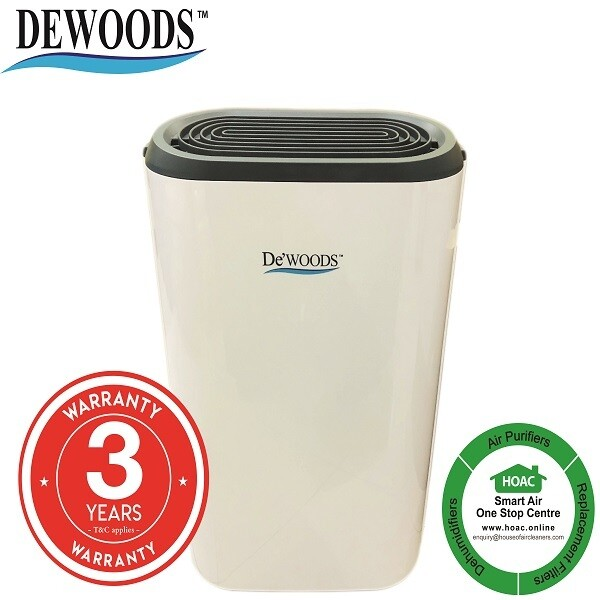 DEWOODS Dehumidifier MDH-12A (12 Litres) With 3 YEARS WARRANTY