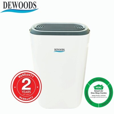 DEWOODS Dehumidifier MDH-12A (12 Litres) With 2 YEARS WARRANTY