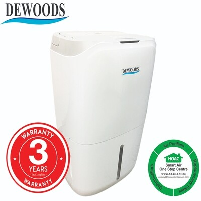 DEWOODS Dehumidifier MDH-20A (20 Litres) With 3 YEARS WARRANTY