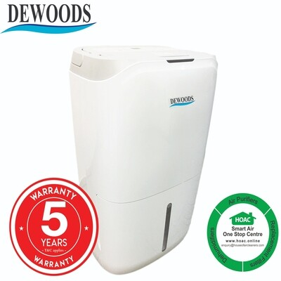 DEWOODS Dehumidifier MDH-20A (20 Litres) With 5 YEARS WARRANTY