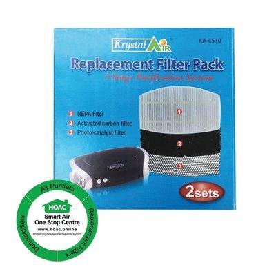 Krystal Air Replacement HEPA Filter for Model KA-8510