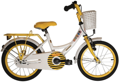 Studio 100 fiets Maya de Bij verschillende maten