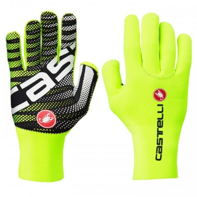 Castelli Diluvio Gloves  Yellow