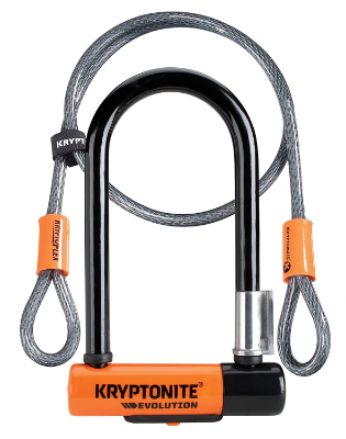 Kryptonite Evolution Mini-7 met Flex Kabel