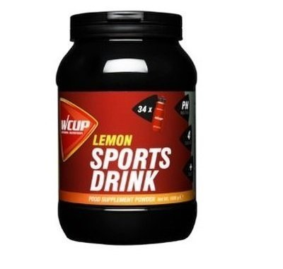 WCup Sportsdrink Lemon 1020g