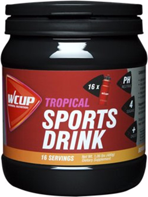 WCup Sportsdrink Tropical 480g