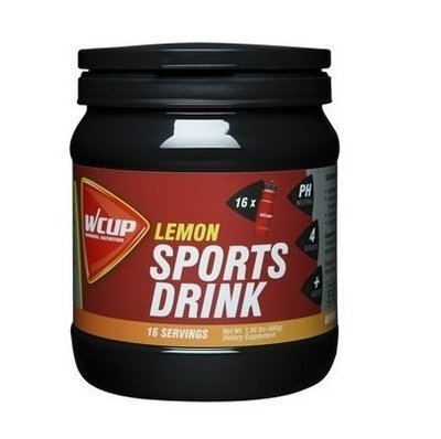 WCup Sportsdrink Lemon 480g