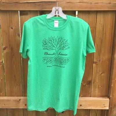 Rhonda Louise Logo T-Shirt - Men's - Green/Black