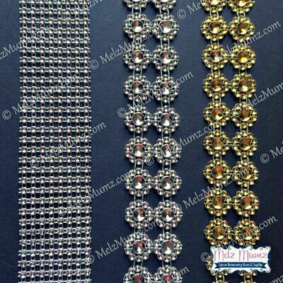 Diamond Like Ribbon & Garland