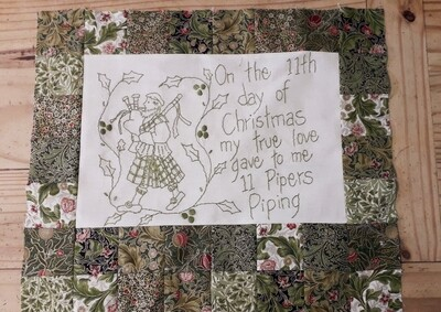 12 Days of Christmas - Eleven Pipers piping