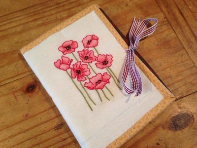 Tri fold Binding Kit - Cluster of Poppies