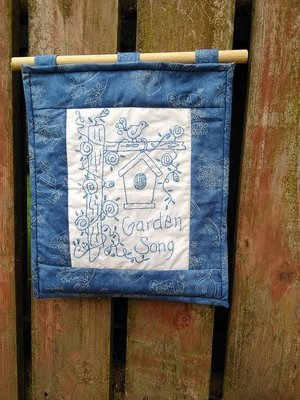Garden Song Wallhanging