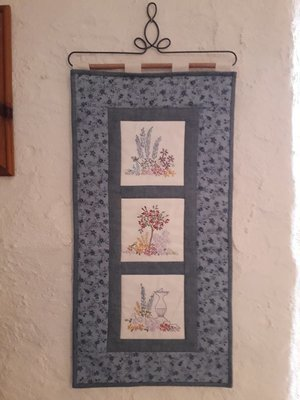 Garden Windows Wallhanging