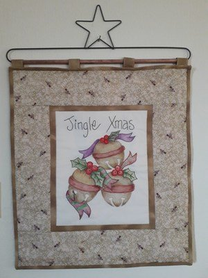 Jingle Xmas Wall hanging
