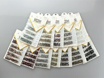 1720pcs Nail Diamonds