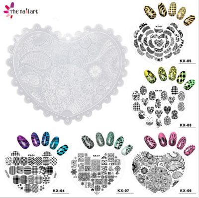 Plastic Heart Stamping Plate