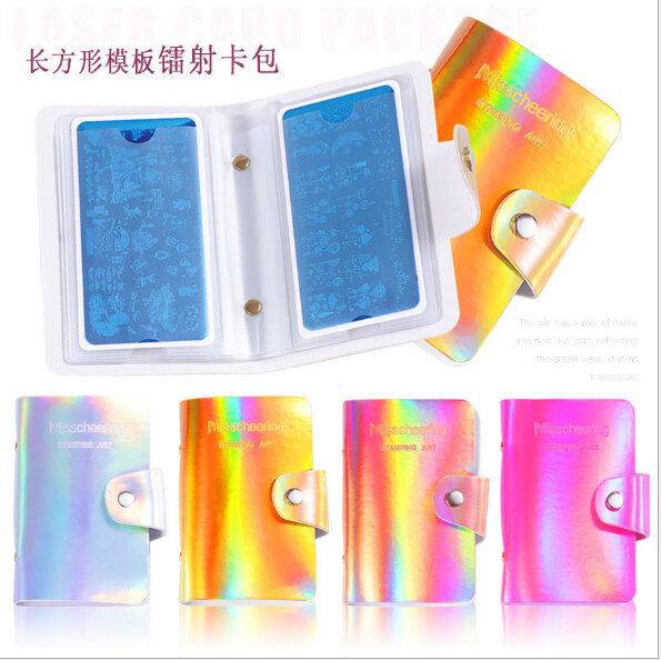 Laser Stamping Plate Bag 20 slots 6*12