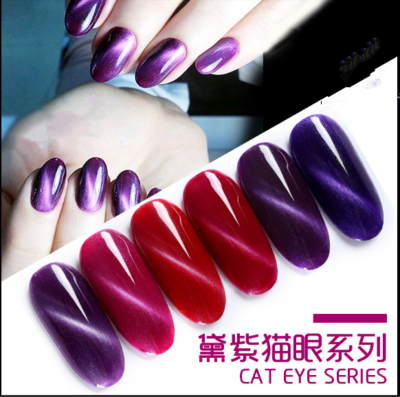 AS - Dark Purple Cat Eye Gel Polish 15ml