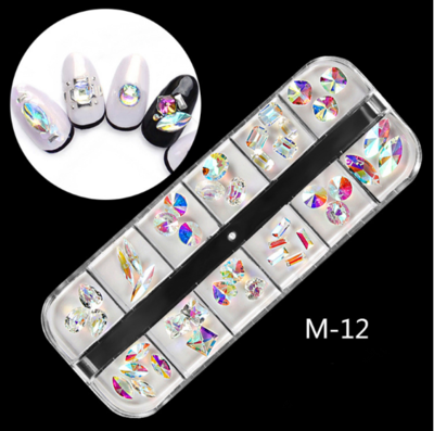 12 AB Nail Decoration M-12