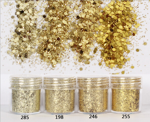 CLEARENCE SALES 10g Glitter Mix Color 5pcs ( Different Ones )